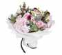 Pink Ohara and Hydrangea with Mixed Fresh Flowers Hand Bouquet